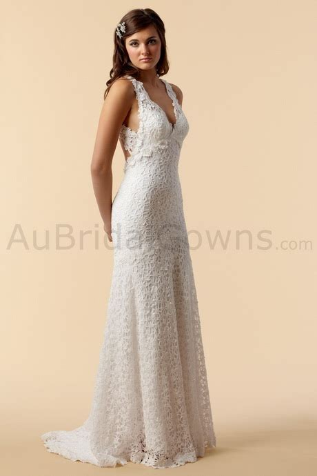 Cotton Wedding Dress by Cotton Lace Wedding Dress