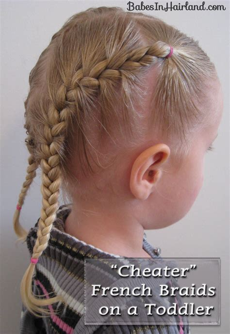 toddler boy plait hair toddler french braids babes in hairland