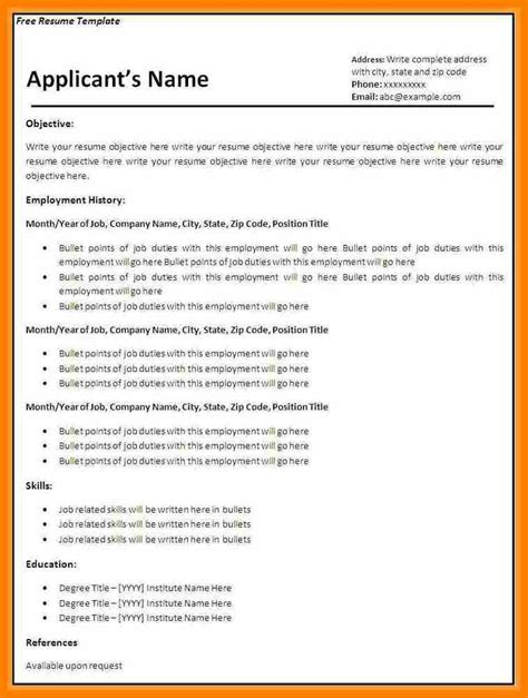 cv template free download south africa 10 cv format 2017 south africa science resume