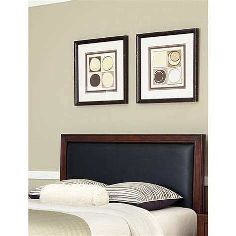 home styles duet king california king panel headboard with