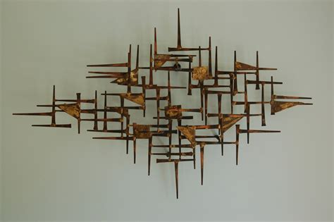 interior design wall ideas or by sculptural wall panels mid century modern brutalist nail art wall hanging sculpture