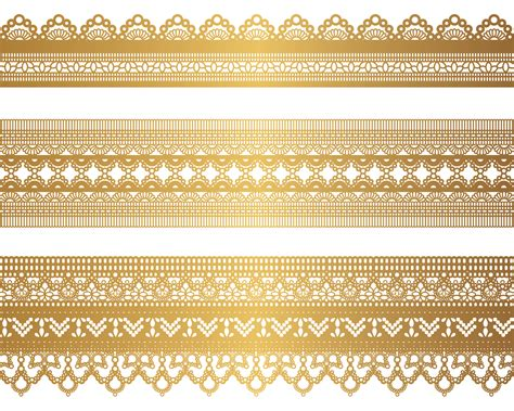 Gold Pattern Eps | free vector gold lace pattern 04 vector vektor