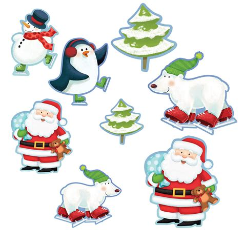 christmas characters value cutouts christmas decorations