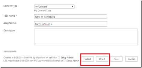 sharepoint workflow start options suhail cloud create custom outcome options in workflow