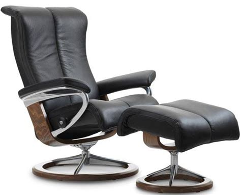 ekornes stressless recliner parts stressless piano classic wood base recliner chair by ekornes