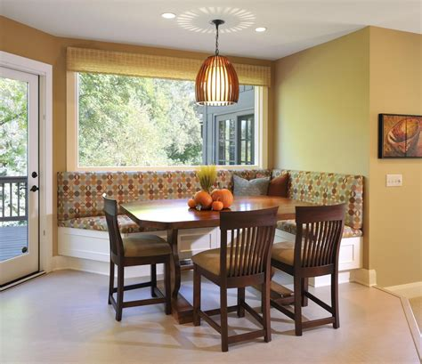 dining room with banquette seating banquette bench dining room contemporary with beige bench