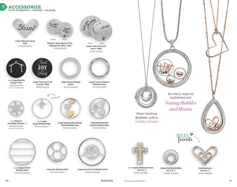 Origami Owl Catalog - origami owl custom jewelry catalog