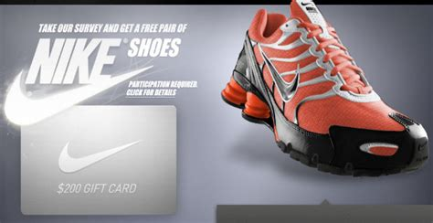 Nike Survey 10 Gift Card - 2 gud freebie stuffs 2 gud freebies we have free survey free sles free trials