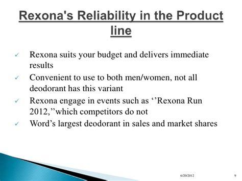 10 step marketing plan for rexona 1