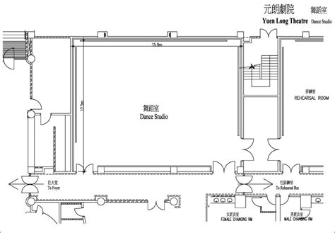 dance studio floor plan yuen long theatre facilities services dance studio