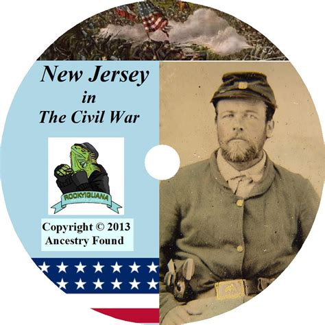 New Jersey Civil Search New Jersey Civil War Books History Genealogy 15 Books Ebay