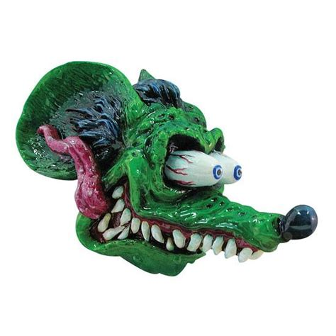 Rat Fink Shifter Knob new speedway green rat fink cast resin shift shifter knob 3 8 quot threaded insert ebay