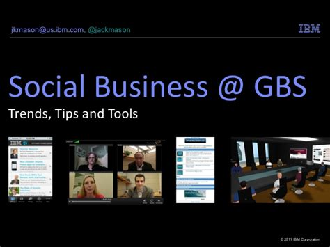 Ibm Global Business Services Mba by Social Business Ibm Global Business Services
