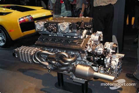 Who Makes Lamborghini Engines The Lamborghini Murcielago V12 Engine Automotive Photos
