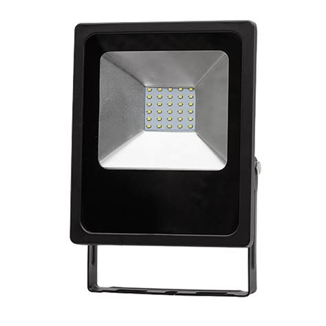 Lu Led Ip65 led slim floodlight ip65 30w 6400k 90 260v ac ultralux