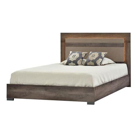 matera bed matera queen platform bed made in italy el dorado furniture