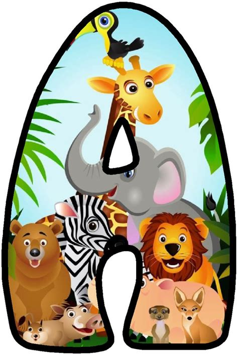 printable safari animal letters 278 best safari savane jungle images on pinterest