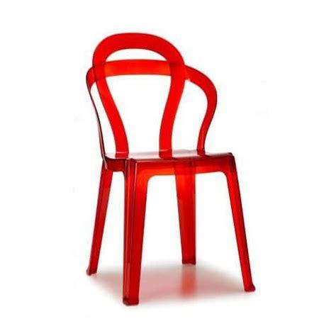 polycarbonat stuhl polycarbonat stuhl stapelbar mit modernen linien idfdesign