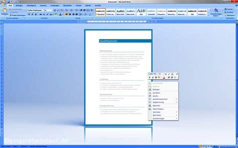 Bewerbung Im Bereich Design Lebenslauf Muster F 252 R Word Und Open Office