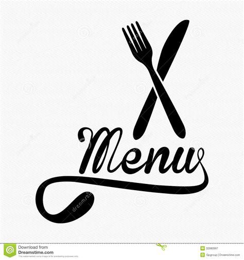 menu design royalty free stock photography image 32980997