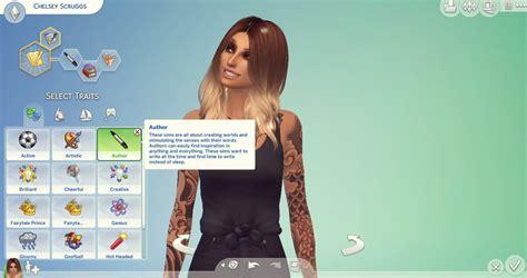 is sims 4 cc free mod the sims author cas trait sims 4 custom traits