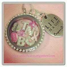 Kaillowry Origami Owl - 1000 images about negative breast cancer warrior