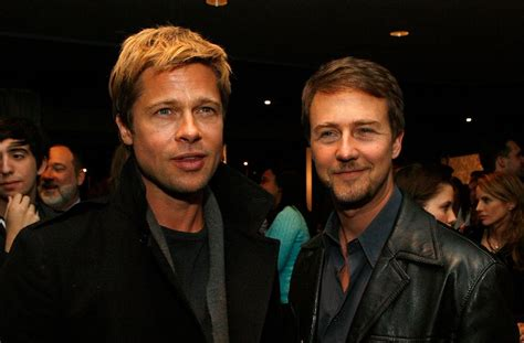 oscars 2016 contenders party report premieres parties fight club 2 brad pitt begging edward norton to return