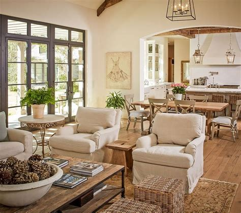 Open Neutral | open plan neutral layered living room dining room