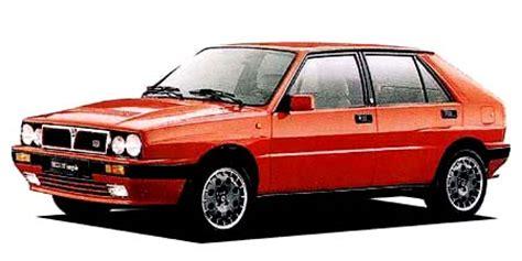 Lancia Delta Integrale Specs Lancia Delta Hf Integrale 16v Catalog Reviews Pics