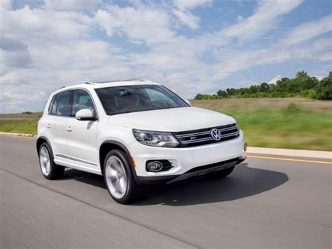 volkswagen tiguan   compact suv quick spin  review autobytelcom