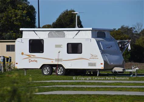 Tasmanian Caravan Parks Cabins by Hobart Airport Caravan Park Tourist Cabin Park Tasmania
