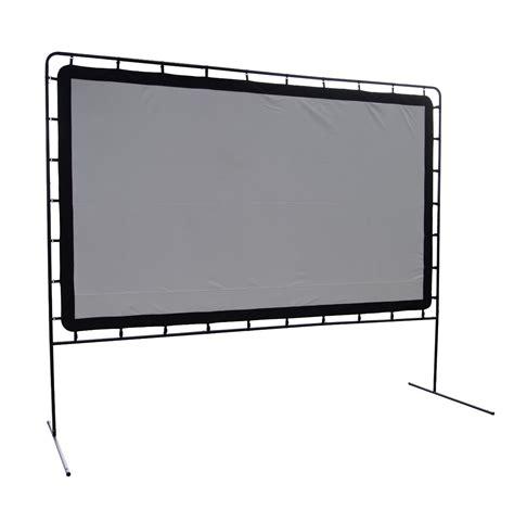 backyard screen indoor outdoor movie screen rental