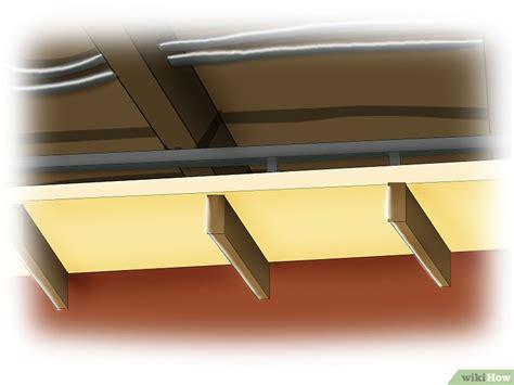 insonorizzare soffitto come insonorizzare un soffitto 6 passaggi illustrato