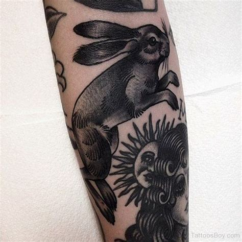rabbit tattoos tattoo designs tattoo pictures page 8