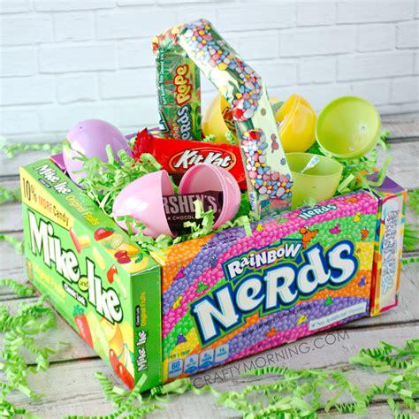 easter basket craft diy easter basket for crafty morning