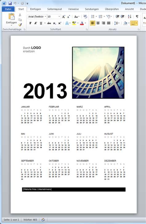 Word Vorlage Erstellen 2013 Kalender Vorlage 2013 F 252 R Microsoft Word