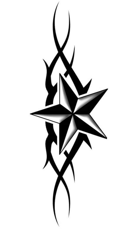 star pattern tattoo designs designs the is a canvas