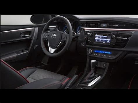 2016 toyota corolla interior youtube
