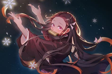 nezuko kamado background hd nezuko