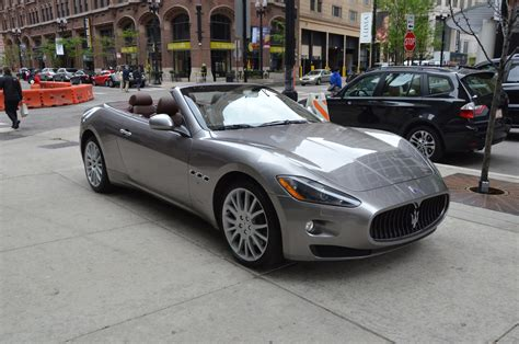 Maserati Dealer Chicago by 2011 Maserati Granturismo Convertible Stock R160aaa For