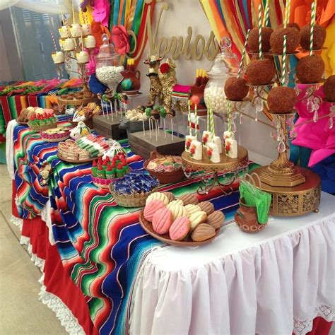themed party k fiesta mexican bridal wedding shower party ideas