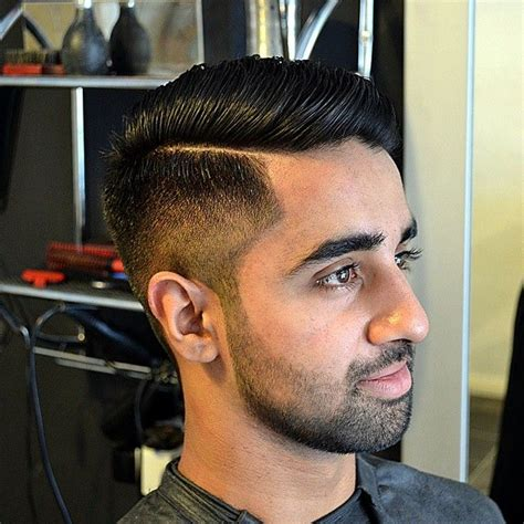 trimming hair styles and silky hair in mens kieronthebarber s photo quot cheeky one faded side part and