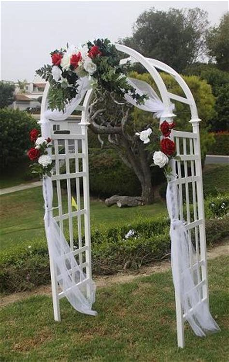 How To Decorate A Arch For Wedding by Decorating A Wedding Arch With Tulle 187 Wedding Decoration