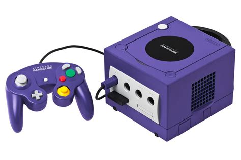 amazon console nintendo gamecube console purple amazon co uk pc