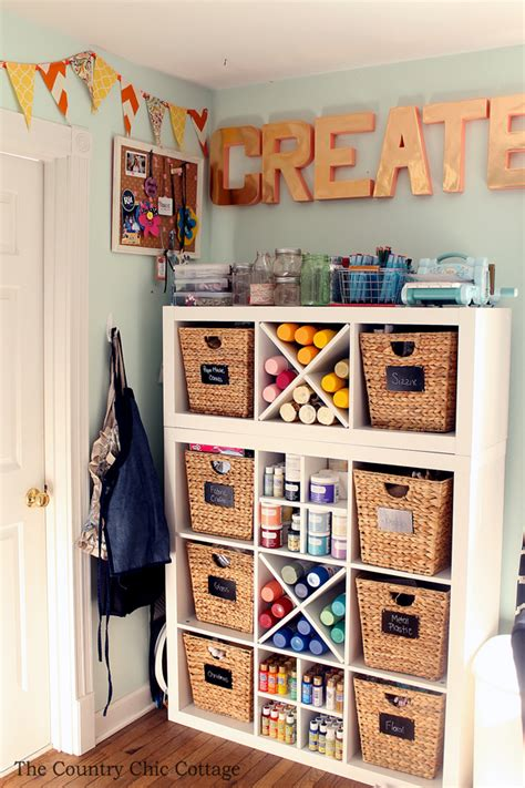 arts and crafts storage for my craft room plus more craft room tours the country