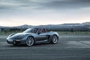 Porsche Boxster Front Porsche 718 Boxster Review And Rating Motor Trend