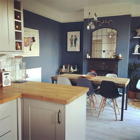 kitchen blue kitchen wall colors ideas kitchen wall little greene juniper ash kitchen diner open plan living