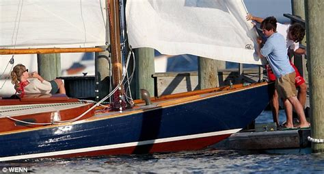 taylor swift on boat taylor swift and conor kennedy s romance blossoms during