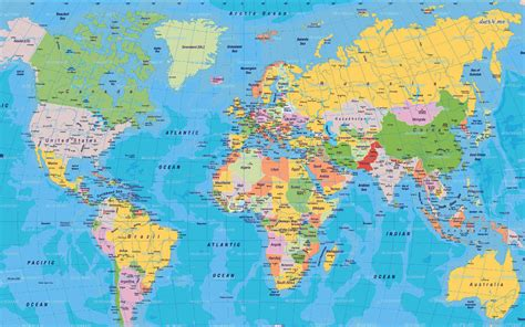 printable world map a1 world map ready to hang stretched on canvas frame a1 a2