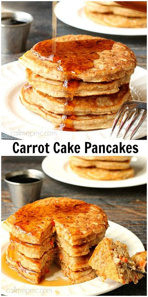 carrot cake pancakes carrot cakes and carrots on pinterest